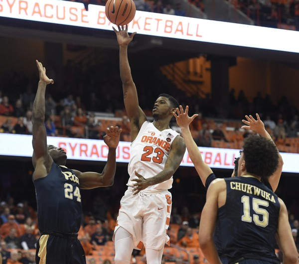 Syracuse snaps 4-game skid, beats Pittsburgh 59-45