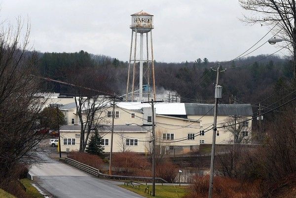Harden Furniture employs 250 people at its factory at 8550 Mill Pond Way in the Oneida County hamlet of McConnellsville. The company is being sold in a foreclosure auction.