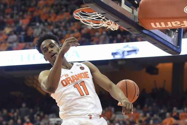 Syracuse Basketball Opens As 7 5 Point Favorite Over Boston College