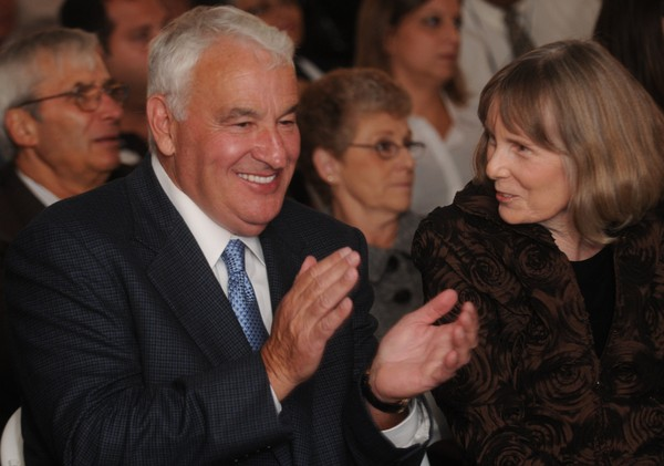 Tom Golisano at the dedication of the Golisano Children's Hospital at SUNY Upstate Medical University in 2009. Golisano has launched an effort to fight high property taxes in New York state.(Mike Greenlar)