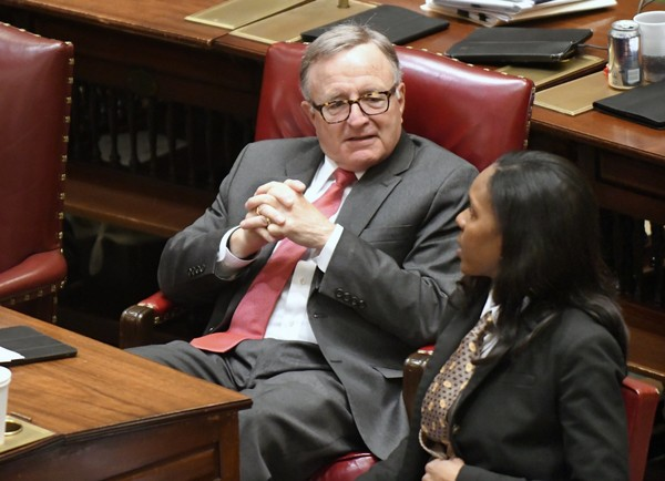 State Sen. John DeFrancisco, R-Syracuse, criticized Gov. Andrew Cuomo's administration on Sunday, Jan. 28, 2018, for spending $90 million from taxpayers to build a factory in DeWitt that is now empty.