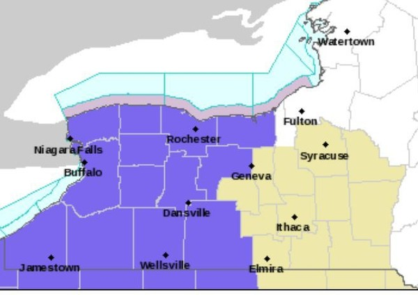 Weather advisory upgraded to winter storm warning