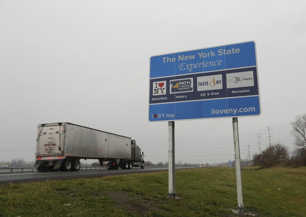 NY could lose millions in federal funding due to signs