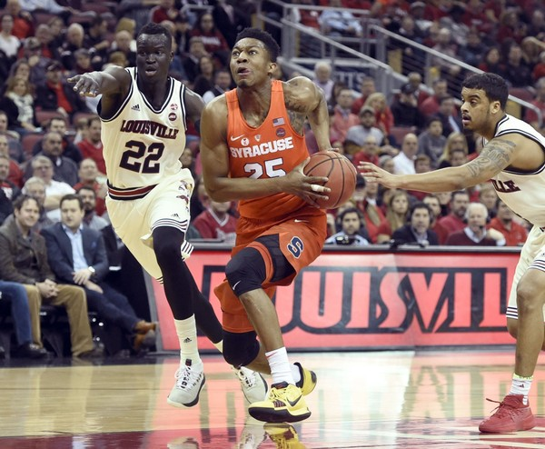 Syracuse guard Tyus  Battle was named one of 10 candidates for the Jerry West Award, which honors the country's top shooting guard.