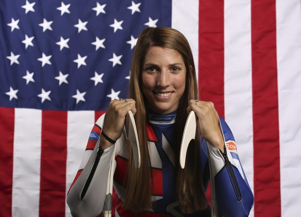 Team USA Selects Luger Erin Hamlin As Flag Bearer For Opening Ceremony