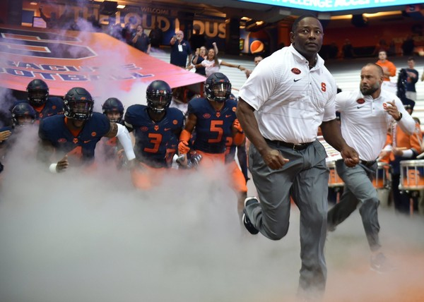 Syracuse football has the No. 61-ranked brand among 65 power-five schools, according to PickSixPreviews.com. It based its rankings on the responses of more than 200 recruits to grade their interest level as if they could attend any school they wanted.