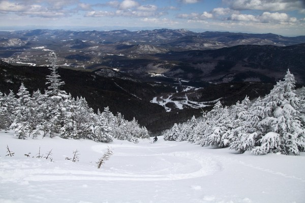 Ski area at Whiteface Mountain in the Adirondacks.