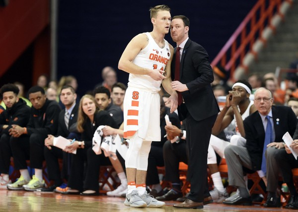 Braedon Bayer's twisting basketball journey has turned him from Tyler Lydon's buddy into a scholarship player at Syracuse.
