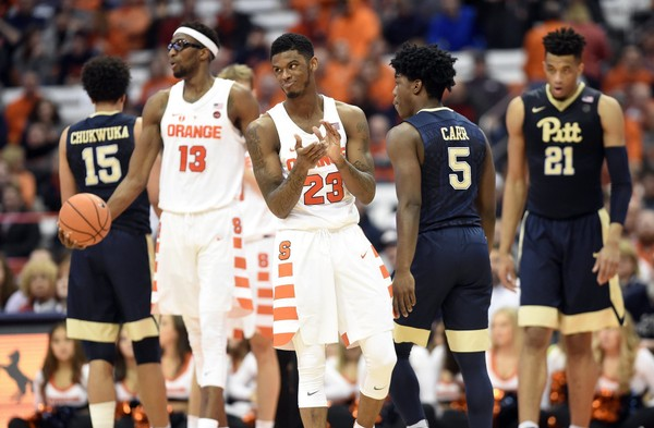 Syracuse's game against Pittsburgh on Jan. 16 started at 9 p.m. The Orange will host North Carolina State on Wednesday in another 9 p.m. start.