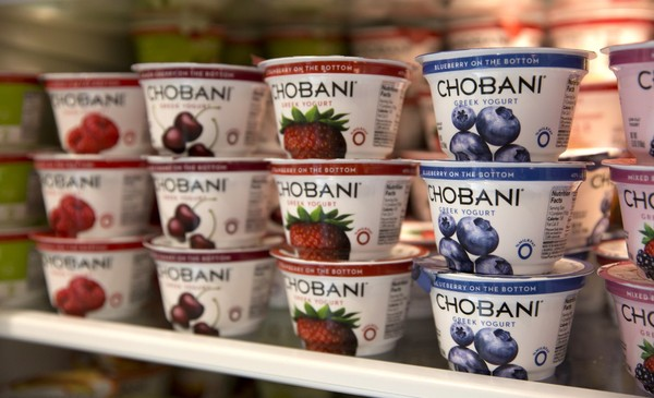 Chobani, the Greek yogurt maker headquartered in Chenango County, N.Y., is giving away free yogurt to celebrate 10 years.