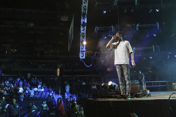 Playboi Carti performs at the 2017 BET Experience at The Staples Center on Thursday June 22, 2017, in Los Angeles.