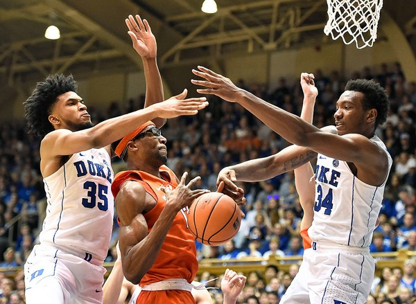 Duke S Marvin Bagley Wendell Carter Completely Dominate Syracuse