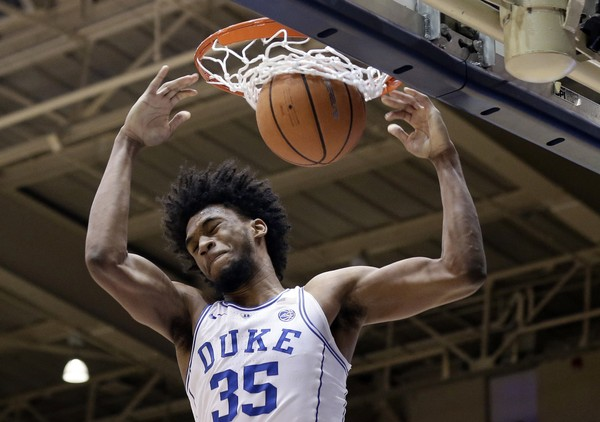 Duke's Marvin Bagley III will be available to play for the Blue Devils on Saturday night against Syracuse.
