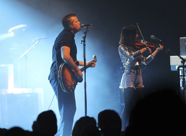 Jason Isbell and The 400 Unit perform at Fox Theatre on Thursday, February 8, 2018, in Atlanta.