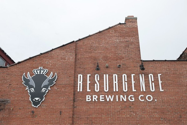 Resurgence Brewing Company on Niagara Street in Buffalo, N.Y.