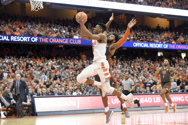 Is Syracuse currently an NCAA Tournament team? It depends on who you believe.