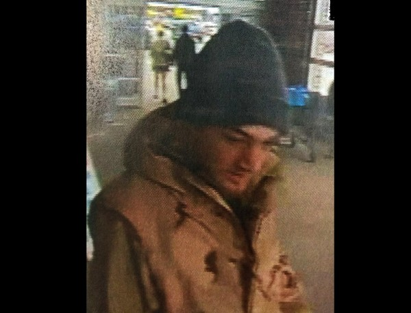 Police are looking for help in identifying this man after a larceny at a Watertown Wal-Mart, state police said.