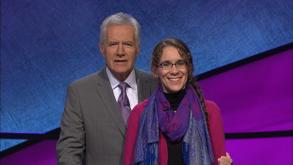 "Ashley O'Mara, a Syracuse University Ph.D. student from Baldwinsville, will appear on ""Jeopardy!"" Monday, March 12, 2018."