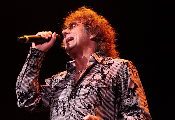 Mickey Thomas, singer for the classic-rock band Starship, performs at the American Music Theatre on Thursday, Jan. 31, 2013, in Lancaster, Pa.
