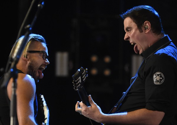 Breaking Benjamin performs at the Lakeview Amphitheater in Geddes, N.Y., Saturday July 9, 2016.(Scott Schild | sschild@newyorkupstate.com)
