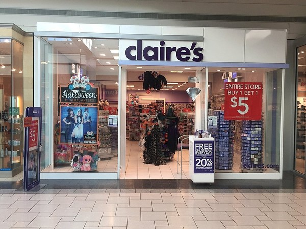 The Claire's location at Destiny USA in Syracuse, seen in a file photo.