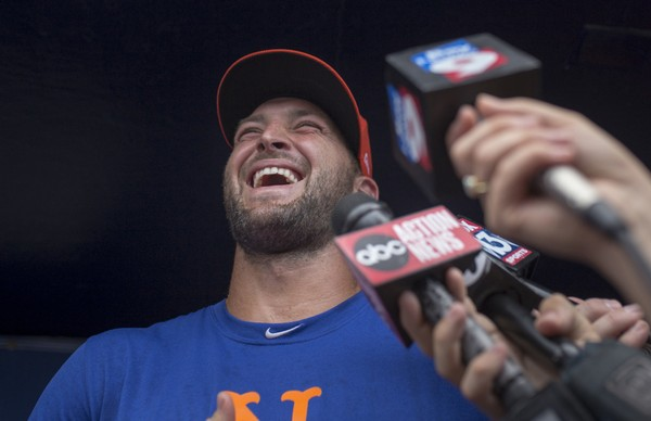 Image result for tim tebow 2019 mets