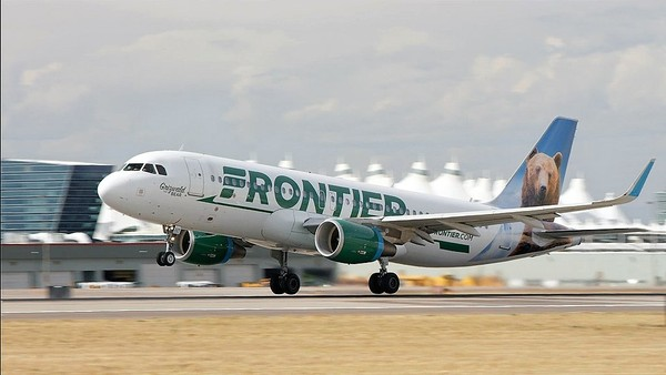 Frontier Airlines is bringing its low fares to Syracuse, with nonstop service to four cities. (Photo courtesy of Frontier Airlines)