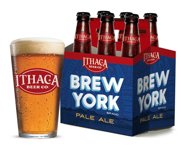 Brew York, a pale ale from Ithaca Beer Co.(Ithaca Beer Co.)