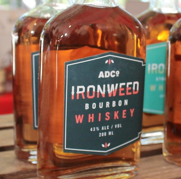 Ironweed Bourbon Whiskey from Albany Disilling Co., Albany