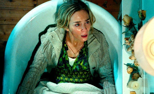 Emily Blunt in a scene from 'A Quiet Place.'