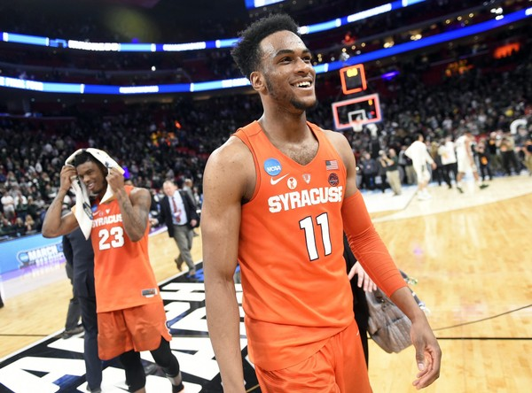 The Syracuse men's basketball program officially announced Oshae Brissett's intention to return next season in a video on Wednesday afternoon.