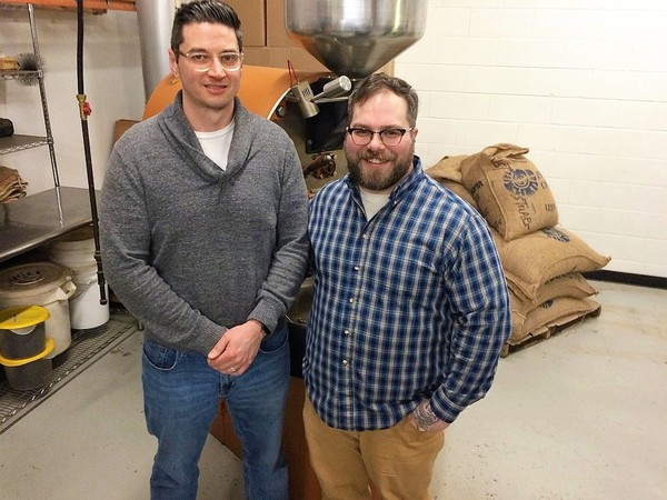 Recess Coffee owners Jesse Daino, left, and Adam Williams have attributed some of the growth of their business to the knowledge they gained from the Small Business Administration's Emerging Leaders program. They were part of the program's 2016 class.