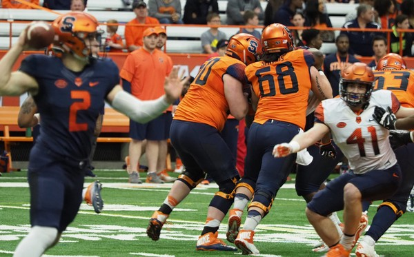 Syracuse football's renewed sense of optimism in its offensive line can be chalked up to something that hasn't been seen since the height of the Dick MacPherson era.