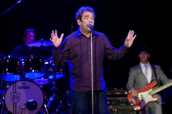 Huey Lewis performing at Turning Stone Resort & Casino in 2012. Huey Lewis and The News canceled the rest of their 2018 tour, including a scheduled show at Turning Stone, due to Lewis' hearing loss.