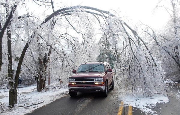 Ice Storm Coming This Weekend. Be Prepared
