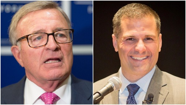 State Sen. John DeFrancisco, R-DeWitt, left, and Dutchess County Executive Marc Molinaro are battling for the Republican nomination for governor.