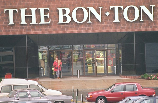 The Bon-Ton store at the Pyramid Mall in Ithaca, seen here in a file photo, is one of 15 the department store chain operates in New York.