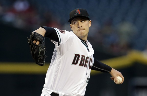 Arizona's Corbin has no-hitter through 7 against Giants