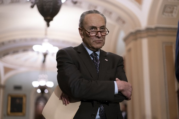 Schumer announces plan to decriminalize marijuana