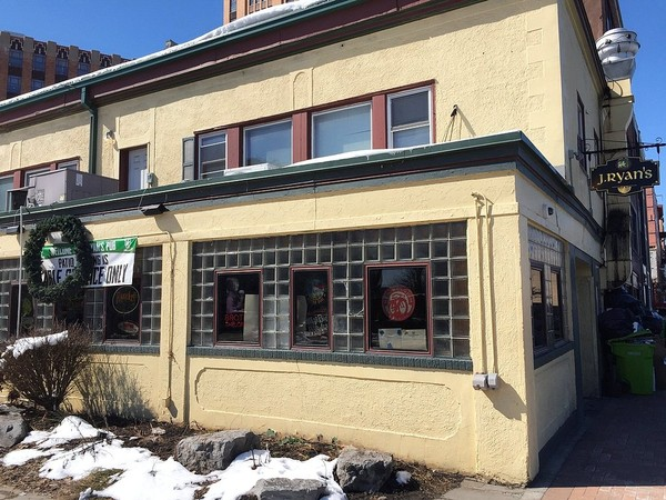 The former J. Ryan's Pub, 253 E. Water St. in Syracuse, may be reopening as the Talisman Tap Room.(Don Cazentre)