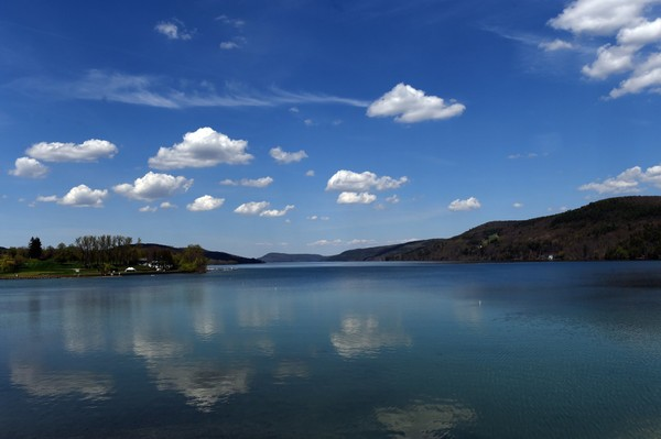 View of Otsego Lake from the Otesaga Hotel in the village of Cooperstown N.Y. (Dennis Nett | dnett@syracuse.com)