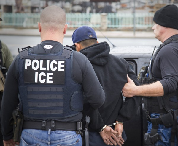 U.S. Immigration and Customs Enforcement during a targeted enforcement operation in 2017.