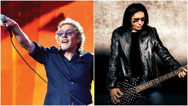 Roger Daltrey (left) and Gene Simmons will perform at Turning Stone Resort & Casino in 2018. (Provided Photos)