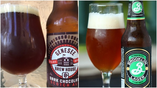 These two New York beers won gold medals at the 2018 World Beer Cup competition, held in Nashville: Genesee Brew House Dark Chocolate Scotch Ale and Brooklyn Lager.