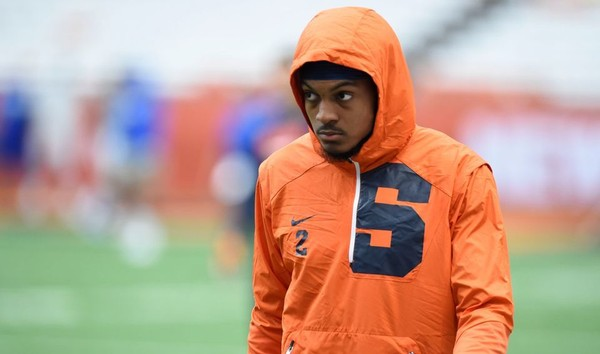 Former Syracuse safety Jordan Martin is receiving a tryout opportunity with the New York Jets.(Dennis Nett | dnett@syracuse.com)