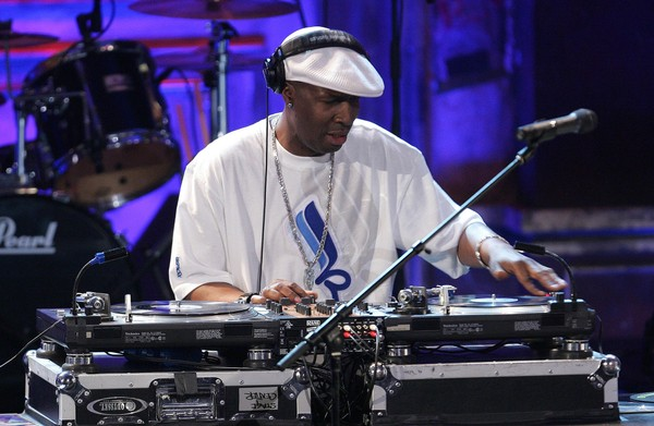 DJ Grandmaster Flash performs onstage at the 22nd annual Rock And Roll Hall Of Fame Induction Ceremony at the Waldorf Astoria Hotel March 12, 2007 in New York City.