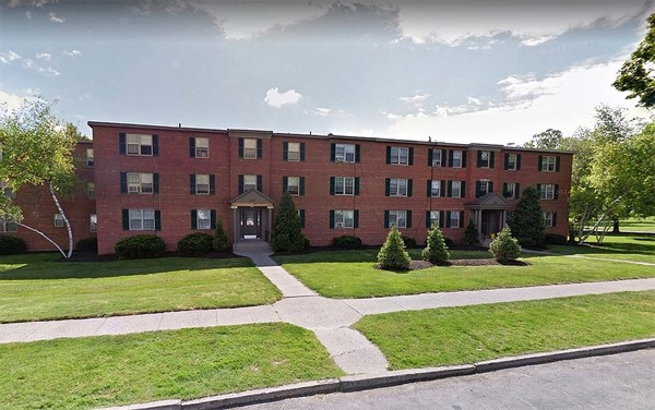 Rugby Square Apartments on Dorchester Avenue in Syracuse are among the real estate holdings of developer Robert Morgan.