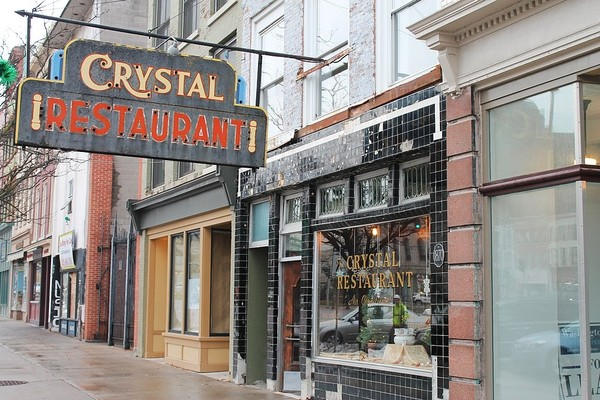 The Crystal Restaurant opened in 1925 at 87 Public Square in downtown Watertown, N.Y.