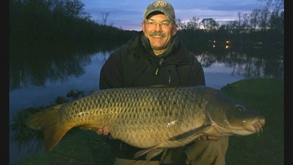 Louis DePasquale landed the biggest carp, a lunker that weighed 35 pounds, 2 ounces. He won $1,350.
