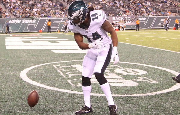 Eagles wide receiver Marcus Johnson checks in from California as the team gets ready for Sunday's game against the Los Angeles Rams. (Ed Mulholland | USA TODAY Sports)